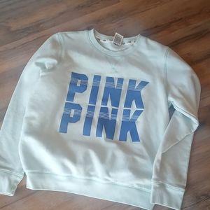 Seagreen Pink sweatshirt